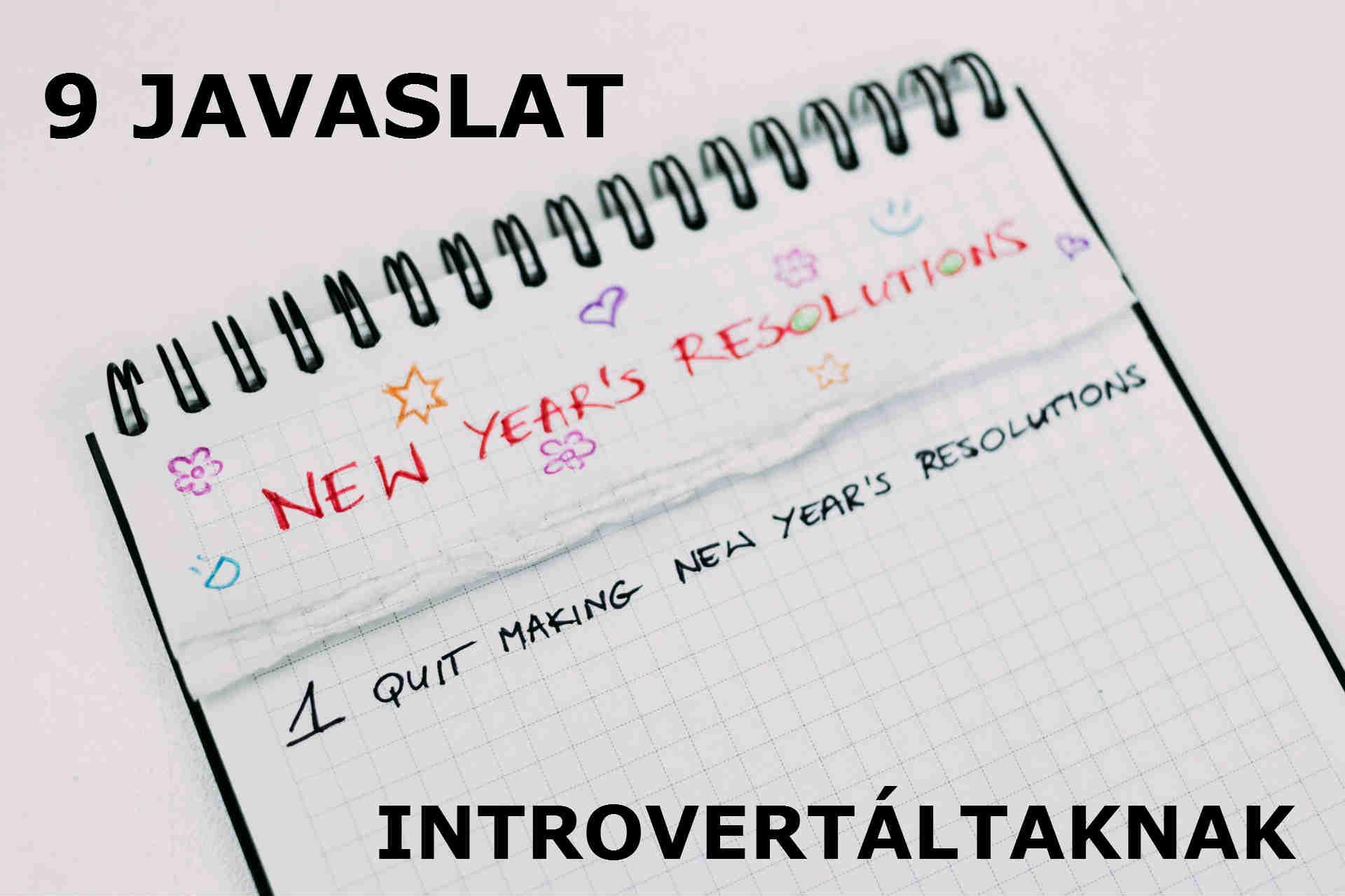 9 új évi fogadalom introvertáltaknak