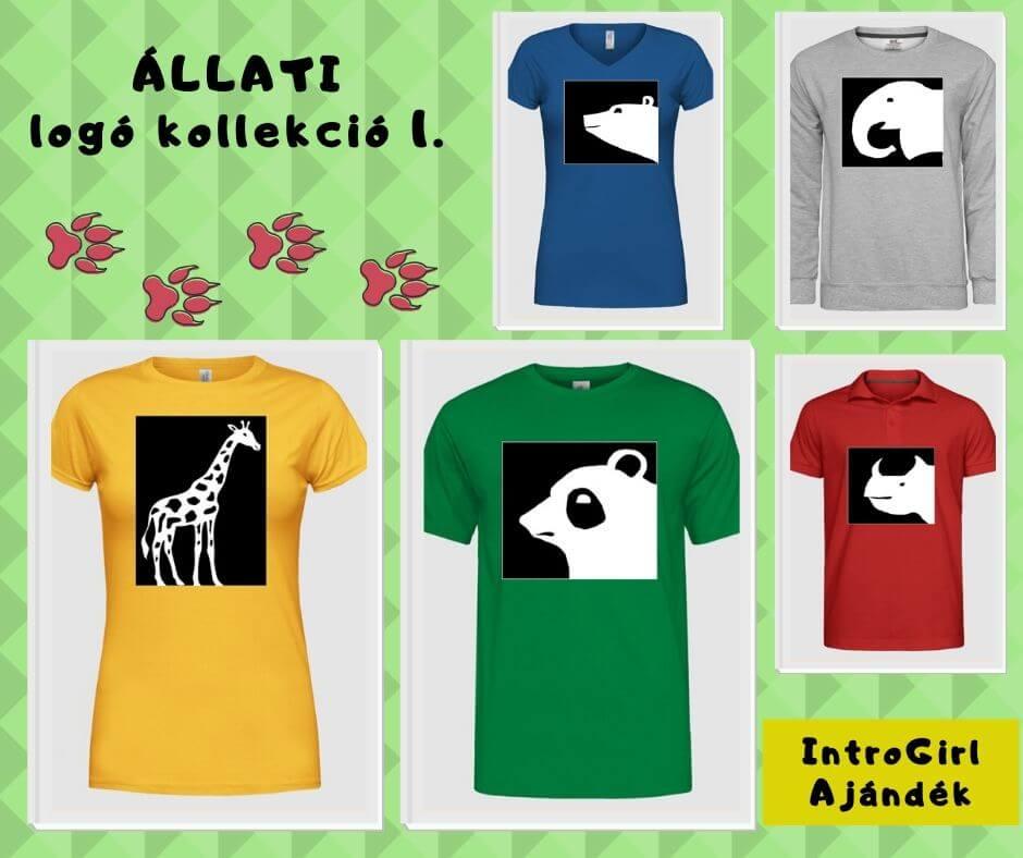 Állati logós pólók