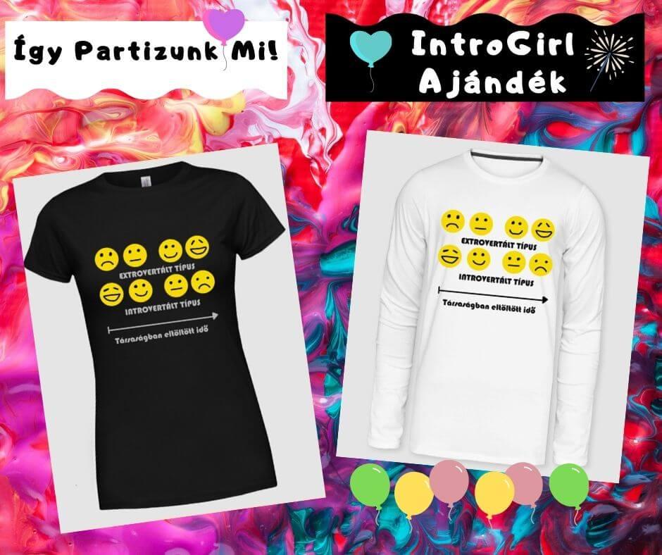 póló introvertált partizóknak