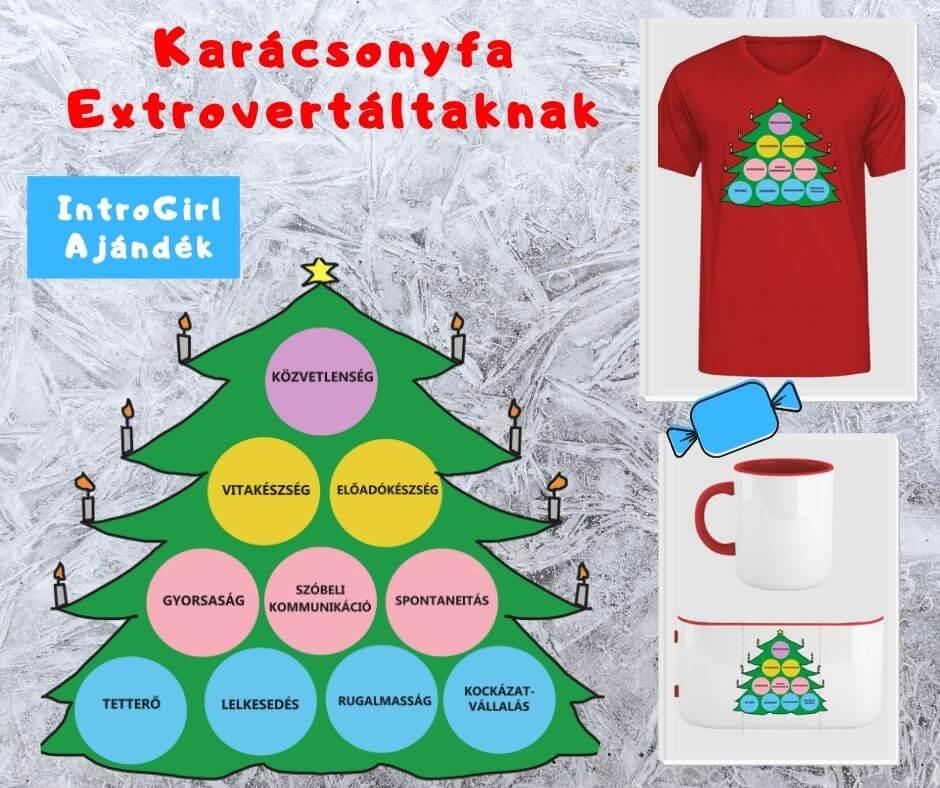 Tulajdonság Karácsonyfa extrovertáltaknak