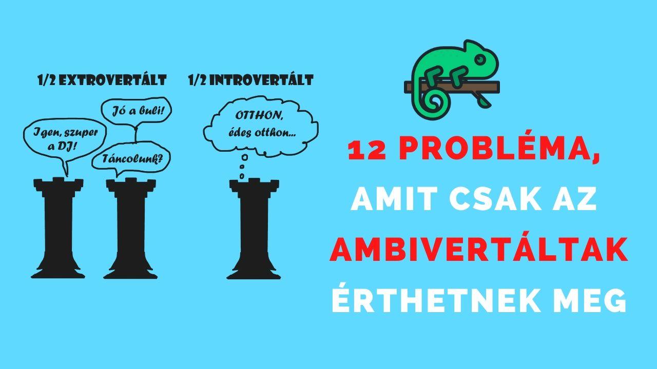 12 probléma, amit csak az ambivertált emberek érthetnek meg